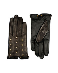 Ted Baker Womens Black Zoie Pearl Crystal Scattered Glove