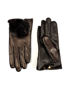 Ted Baker Womens Black Pomi Glove