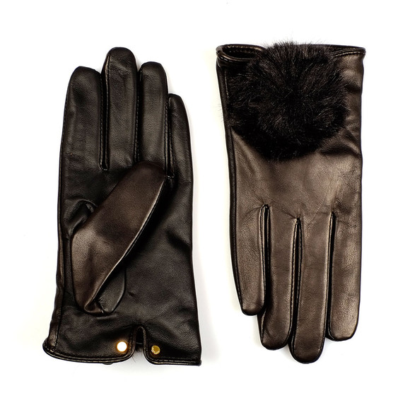 Ted Baker Womens Black Pomi Glove main image
