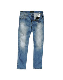 Replay Mens Blue Hyperflex Stretch Denim