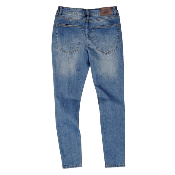 Kings Will Dream Mens Blue Lumor Distressed Jean main image