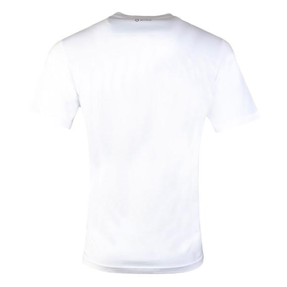 Ma.Strum Mens White Icon Box Logo T-Shirt main image