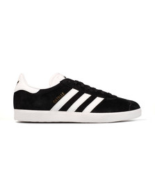 Adidas Originals Mens Black Gazelle Trainer