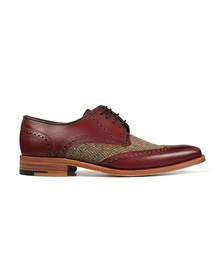 Barker Mens Red Jackson Shoe