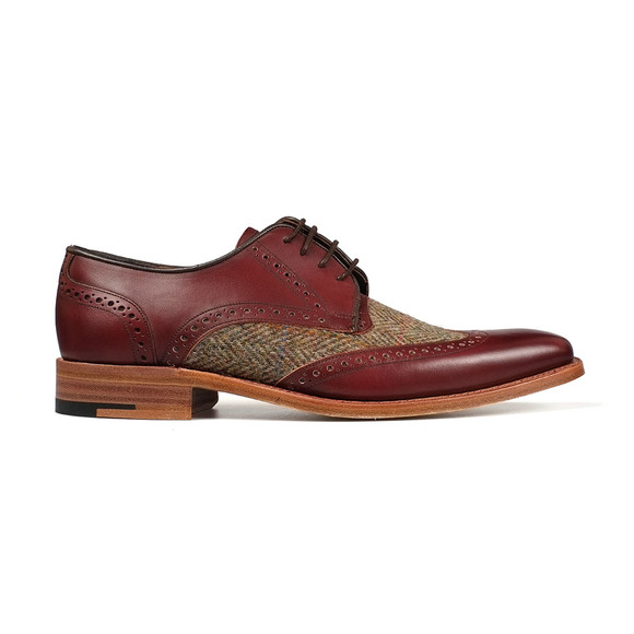 Barker Mens Red Jackson Shoe main image