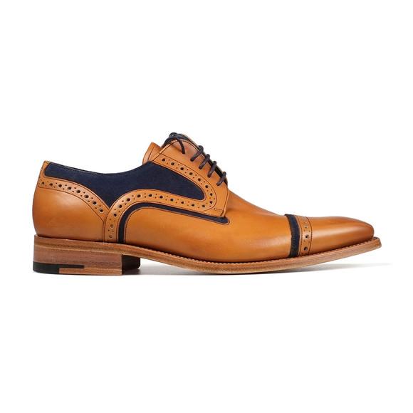 Barker Mens Brown Haig Shoe main image