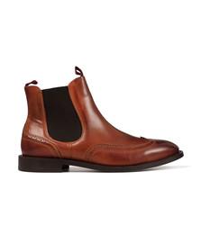 H By Hudson Mens Brown Breslin Chelsea Boot