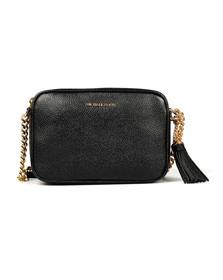 Michael Kors Womens Black Ginny Mid Camera Bag