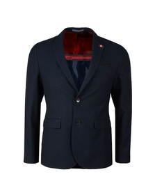 Ted Baker Mens Blue Semi Plain Jacket