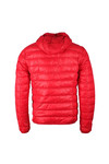 EA7 Emporio Armani Mens Red Train Core ID Light Down Jacket