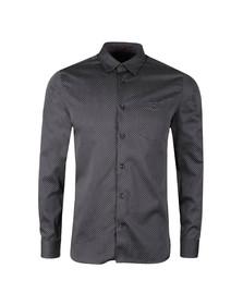 Ted Baker Mens Green L/S Contrast Pocket Shirt