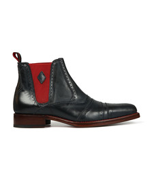 Jeffery West Mens Blue Dexter Point Boot