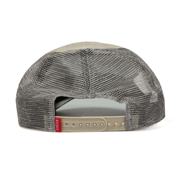 Sik Silk Mens Grey X Starter Crinkle Chino Trucker main image