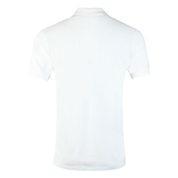 PS Paul Smith Mens White Zebra Polo Shirt main image