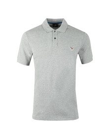 Paul Smith Mens Grey Zebra SS Polo Shirt