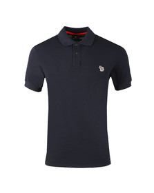 Paul Smith Mens Blue Zebra SS Polo Shirt