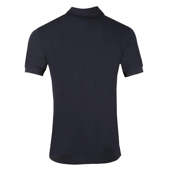PS Paul Smith Mens Blue Zebra Polo Shirt main image