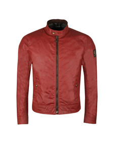 Belstaff Mens Red Kelland Wax Blouson