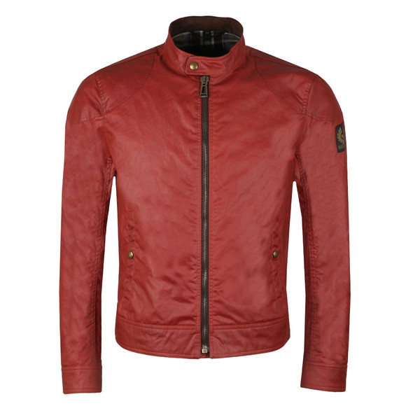 Belstaff Mens Red Kelland Wax Blouson main image