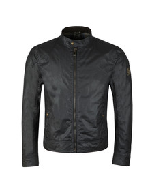 Belstaff Mens Blue Kelland Wax Blouson