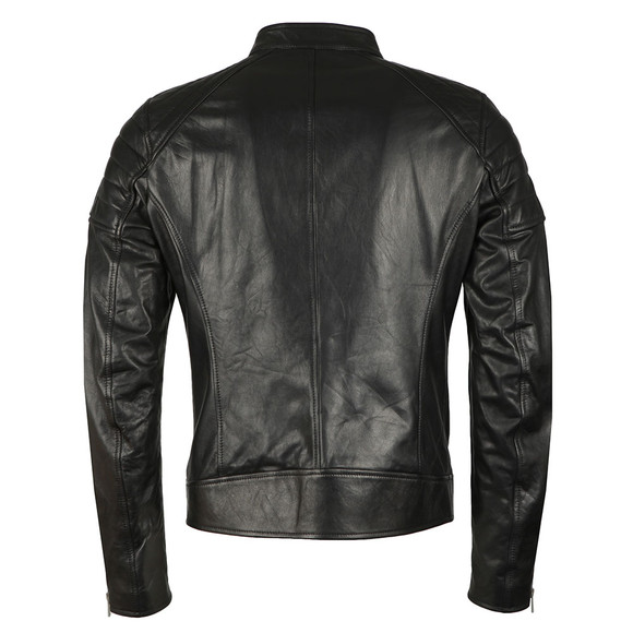 Belstaff Mens Black Northcott Leather Blouson main image
