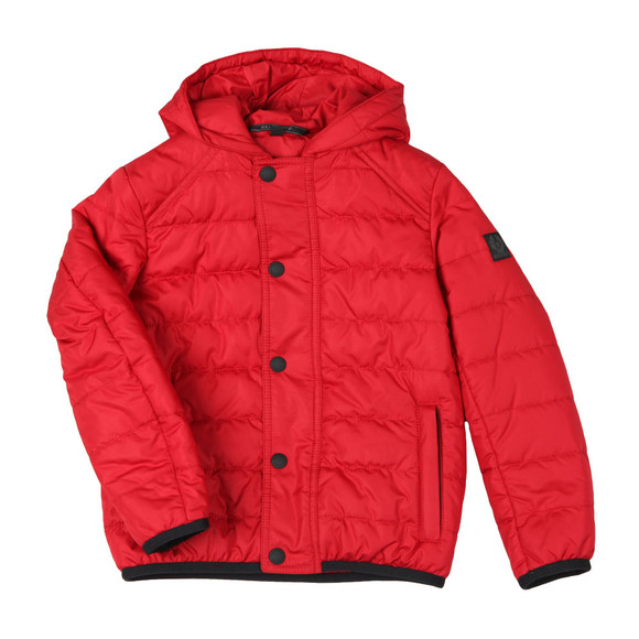 Belstaff Boys Red Holland Padded Coat main image