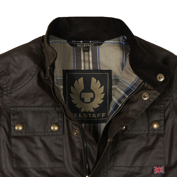 Belstaff Boys Green Roadmaster Jacket
