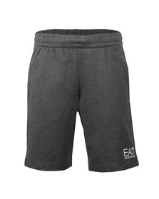 EA7 Emporio Armani Mens Grey 3ZPS51 Sweat Shorts