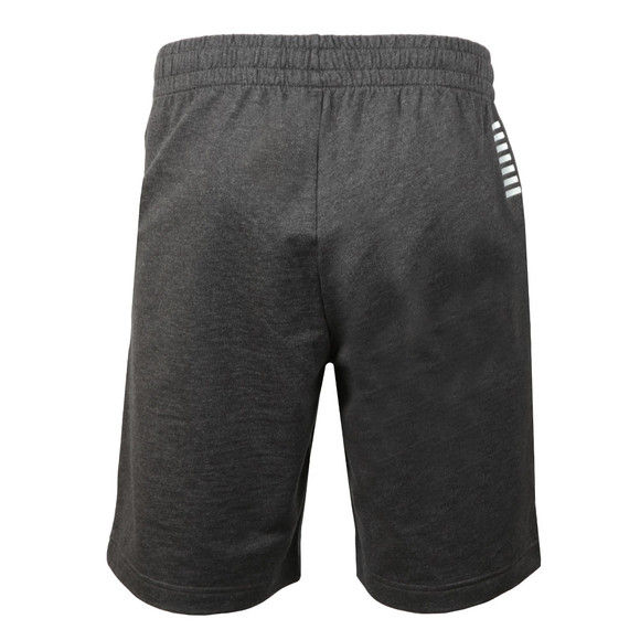 EA7 Emporio Armani Mens Grey 3ZPS51 Sweat Shorts main image