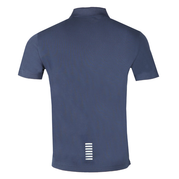 EA7 Emporio Armani Mens Blue 3ZPF52 Polo Shirt main image