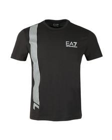 EA7 Emporio Armani Mens Black 3ZPT70 T Shirt