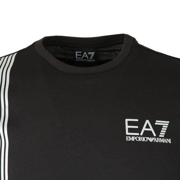 EA7 Emporio Armani Mens Black 3ZPT70 T Shirt main image