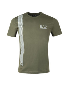 EA7 Emporio Armani Mens Green 3ZPT70 T Shirt