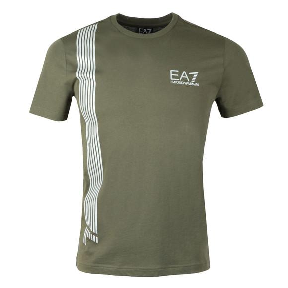 EA7 Emporio Armani Mens Green 3ZPT70 T Shirt main image