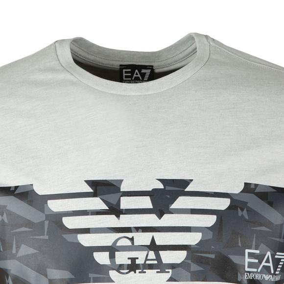 EA7 Emporio Armani Mens Grey 3ZPT44 T Shirt main image