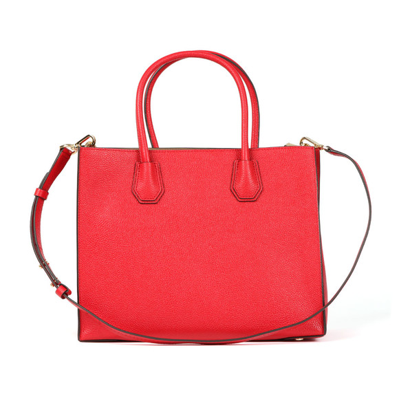 Michael Kors Womens Red Mercer Large Tote main image