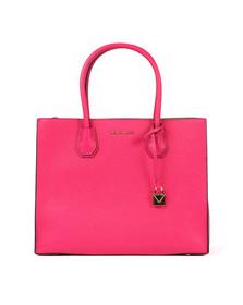 Michael Kors Womens Pink Mercer Large Tote