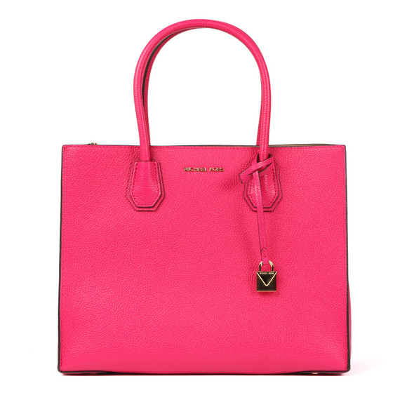 Michael Kors Womens Pink Mercer Large Tote main image