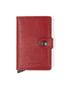 Secrid Mens Red Rango Miniwallet