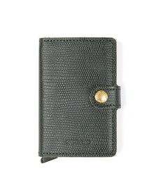 Secrid Mens Green Rango Miniwallet