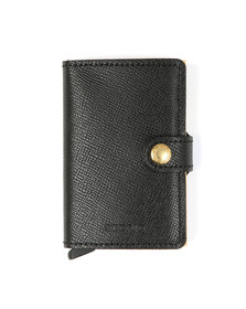 Secrid Mens Black Crisple Mini Wallet