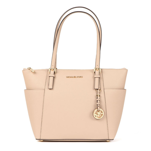 Michael Kors Womens Beige Jet Set East West Tote Bag main image