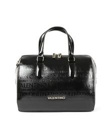 Valentino by Mario Womens Black Clove Satchell Handbag