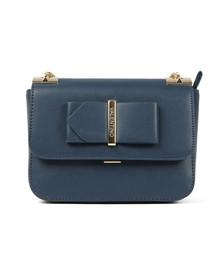 Valentino by Mario Womens Blue Randa Satchel