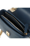 Valentino by Mario Womens Blue Randa Satchel