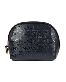 Valentino by Mario Womens Blue Clove Soft Cosmetic Case