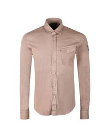Belstaff Mens Beige Steadway Shirt