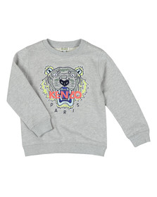 Kenzo Kids Boys Grey Tiger Sweatshirt