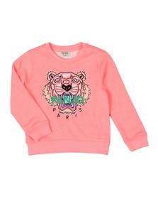 Kenzo Kids Girls Pink Tiger Sweatshirt