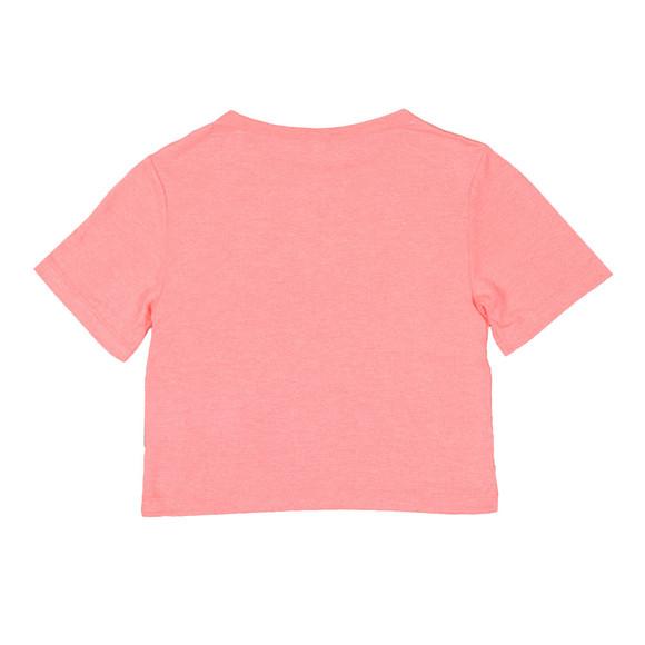 Kenzo Kids Girls Orange Stripe Logo Tee